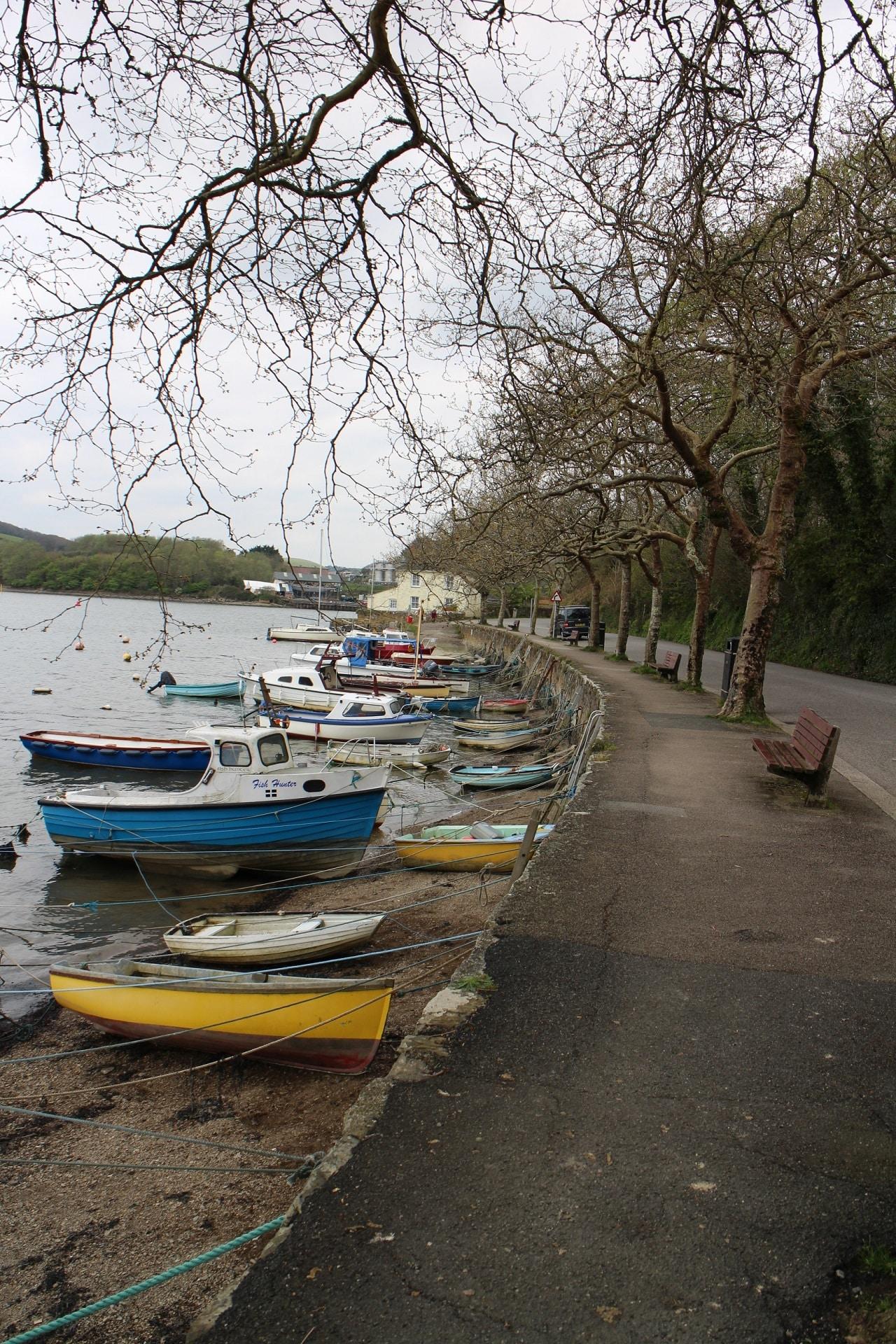Boats moored up at Sunny Corner